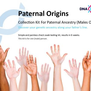 Paternal Origins product label